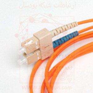 پچ کورد فیبر نوری نگزنس مالتی مود SC-SC دو متری N123.2CCO2