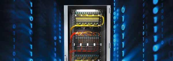 تجهیزات درون رک شبکه