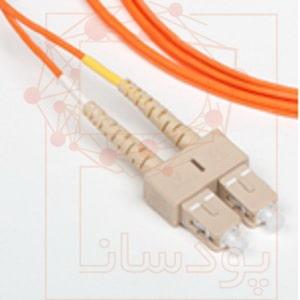 پچ کورد فیبر نوری نگزنس مالتی مود SC-LC دو متری N123.CLO2